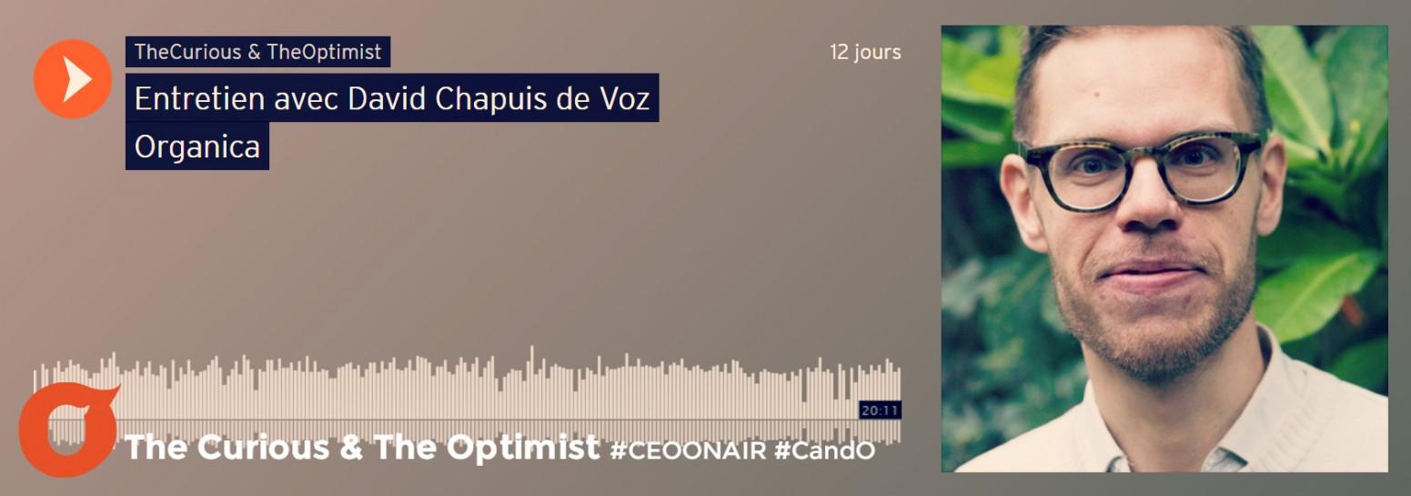 Voz Organica, David Chapuis