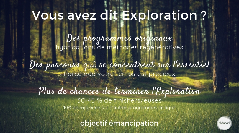Emancipation. Atyiques et multipotentiels